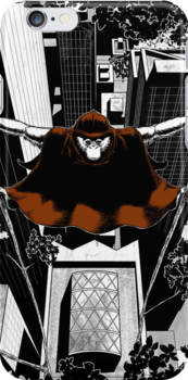 A Red Caped Ape by pongogirl