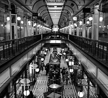 Adelaide Arcade. by Nick Egglington