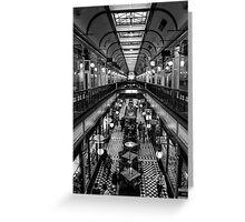 Adelaide Arcade. Greeting Card