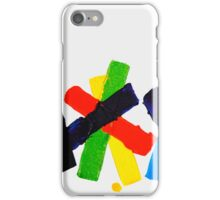 COLORFUL PLASTERS 3 iPhone Case/Skin