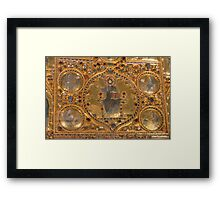 Golden Treasure Framed Print