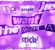 The moon on a stick by Nicola jayne