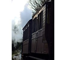 The age of steam... Photographic Print