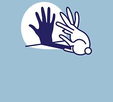 hand shadow rabbit Unisex T-Shirt