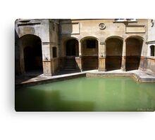 Ancient Bath Canvas Print