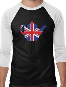 British teapot Men's Baseball ¾ T-Shirt