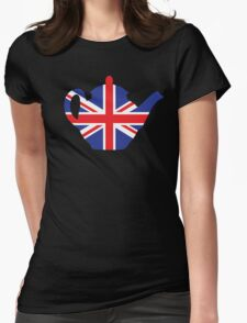 British teapot Womens Fitted T-Shirt