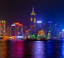 Hong Kong Island Skyline by Maximilian Ammann