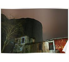 Meteora by night Poster