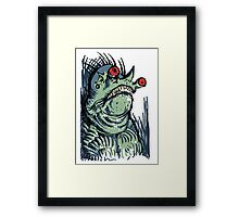 Scary Goblin Framed Print