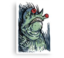Scary Goblin Canvas Print