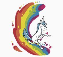Rainbow Surf T-Shirt