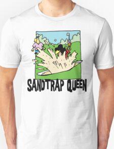 Golfer Sandtrap Queen T-Shirt