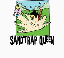 Golfer Sandtrap Queen Womens Fitted T-Shirt