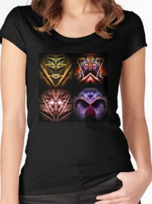 The four warrior kings Women's Fitted Scoop T-Shirt