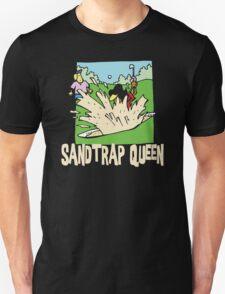 Golfer Sand Trap Queen T-Shirt