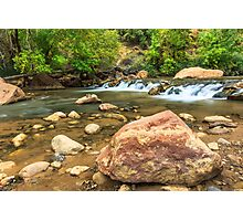 Virgin River Zion Photographic Print