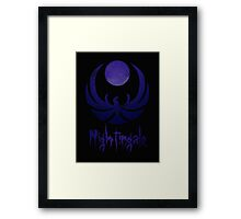 Nightingale Framed Print