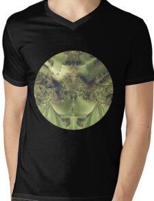 Metallic Curtain Mens V-Neck T-Shirt