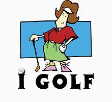 I Golf Women's Womens Fitted T-Shirt