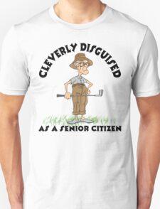 Golfer Senior Citizen T-Shirt