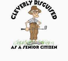 Golfer Senior Citizen Unisex T-Shirt