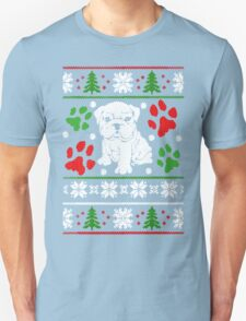 BULLDOG CHRISTMAS T-Shirt
