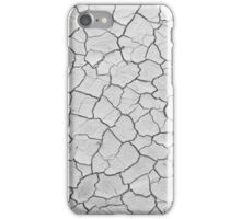 Cracked clay iPhone Case/Skin