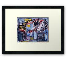 Market Forces Framed Print