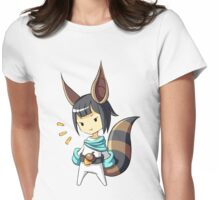 Squirrel 2 Womens Fitted T-Shirt