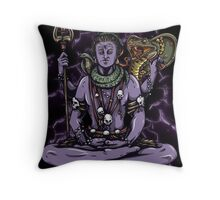 Mythical Witch Doctor Throw Pillow
