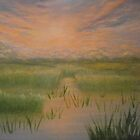 Marsh Sunset by Holly Martinson