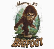 Mommy's Lil' Bigfoot by MudgeStudios