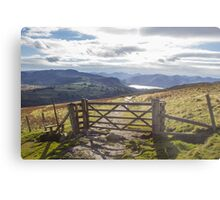 Gateway to Keswick Metal Print