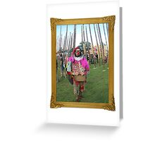 At Electric Picnic Festival-Ireland Greeting Card