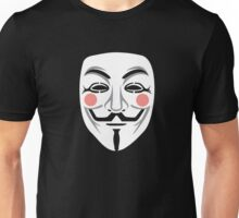 Anonymous/Guy Fawkes mask Unisex T-Shirt