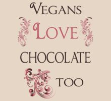Vegans Love Chocolate Too by veganese