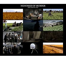 Memories of Murder  [Cinegrid] Photographic Print