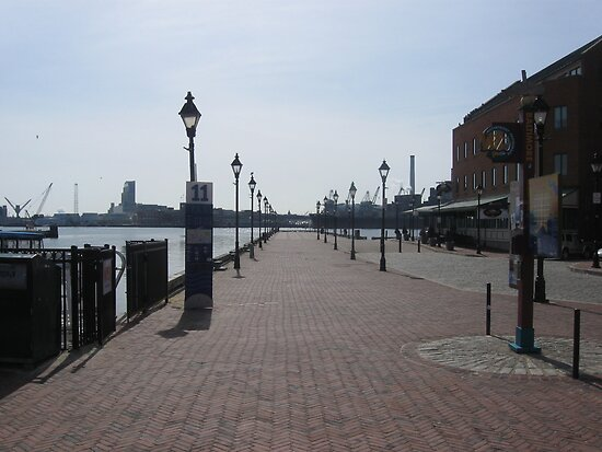 The Pier in Fells Point by starlite811