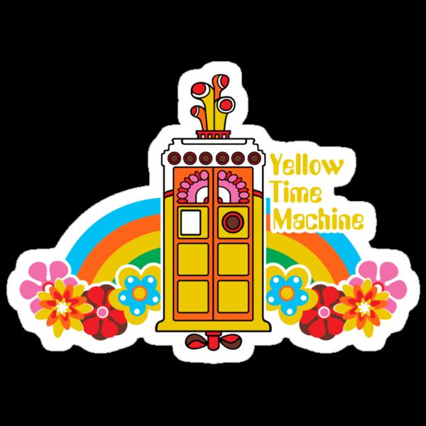 Yellow Time Machine by Baznet