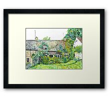 Snows Hill Cottage Framed Print