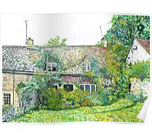 Snows Hill Cottage Poster