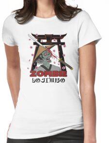 ZOMBIE YOJIMBO!! Womens Fitted T-Shirt