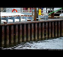 Rusty Dock - Port Jefferson, New York  by © Sophie W. Smith