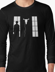 Bored silhouette Long Sleeve T-Shirt