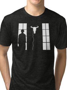 Bored silhouette Tri-blend T-Shirt
