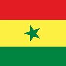Senegal Flag by pjwuebker