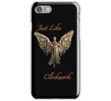 Just Like Clockwork iPhone Case/Skin