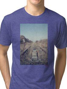 abandoned railway  Tri-blend T-Shirt