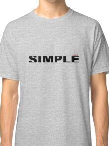 simple type  Classic T-Shirt